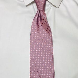 Hugo Boss lavander and pink tie